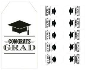 congrats grad gift tags