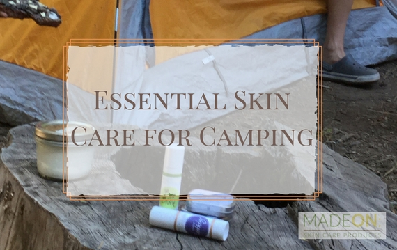 what skin care to take camping