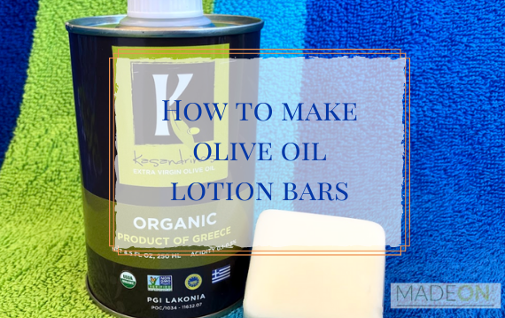 lotion bar made with kasandrinos olive oil